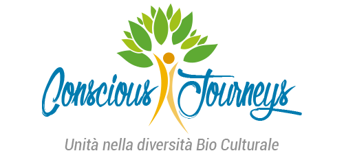 Logo Conscious Journeys Turismo responsabile e sostenibile