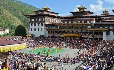 Thimphu Festival Bhutan Turismo responsabile e sostenibile