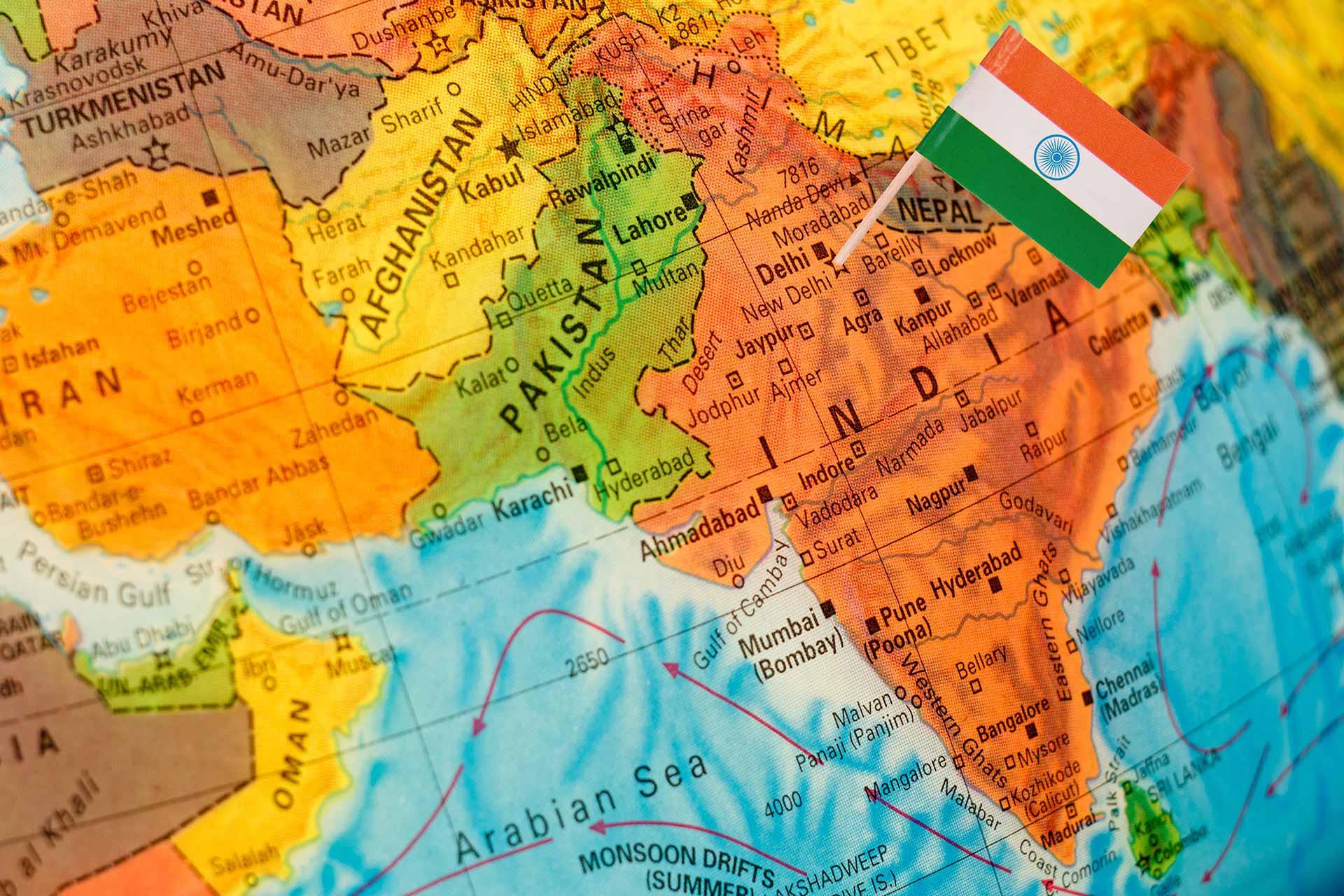 Cartina Dell India Del Nord.Viaggio Nell India Del Nord