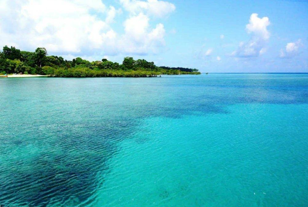 Neil island è una piccola isola delle Andamane