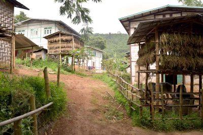 Villaggi e tribù Birmania