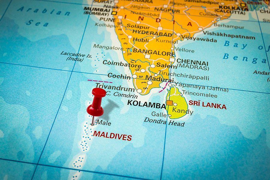 maldive mappa