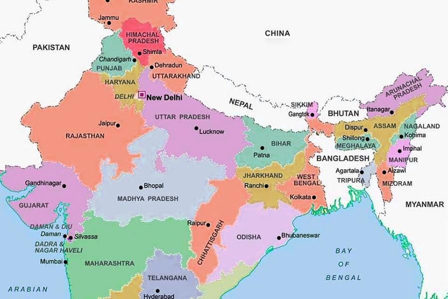 India Del Nord Cartina.I Tour Alla Scoperta Dell India Del Nord E Delle Sue Meraviglie