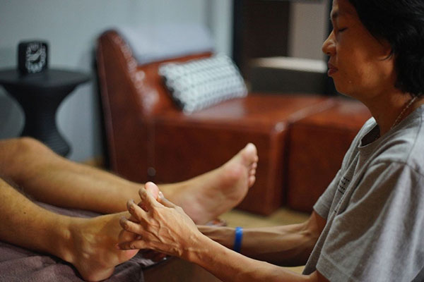 massaggio thai ipovedenti